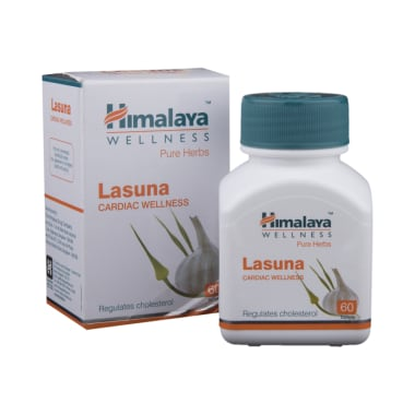 Himalaya Wellness Pure Herbs Lasuna Cardiac Wellness Tablet