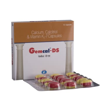 Gemcal-DS Soft Gelatin Capsule