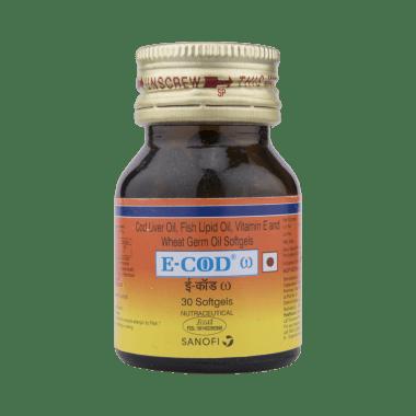 E-COD Omega Vitamin E Softgels