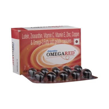 Omegared Soft Gelatin Capsule
