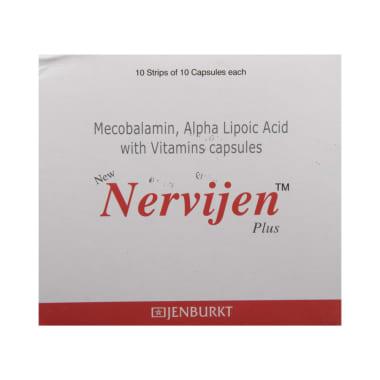 New Nervijen Plus Soft Gelatin Capsule