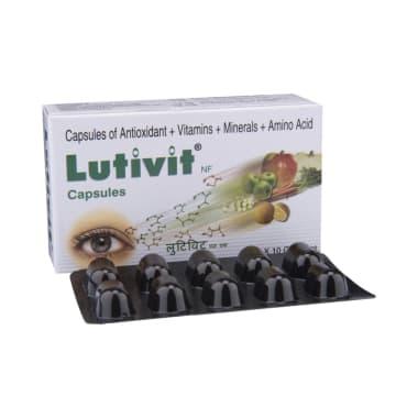 Lutivit NF Soft Gelatin Capsule