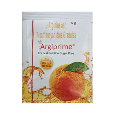 Argiprime for Oral Solution Sugar Free Sachet Orange