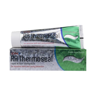 RA Thermoseal Rapid Action Fresh Mint Toothpaste