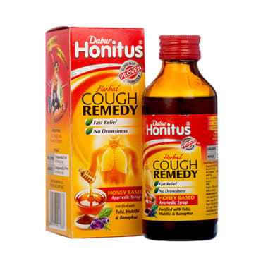 Dabur Honitus Herbal Cough Remedy