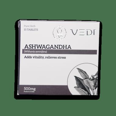 Vedi Ashwagandha 500mg Tablet