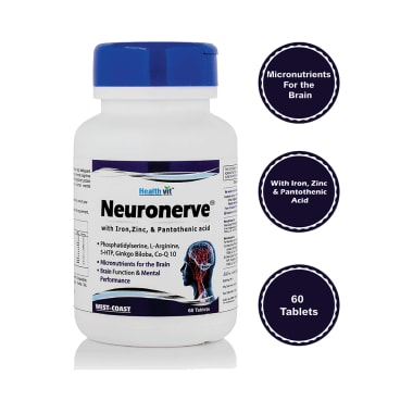 HealthVit Neuronerve Tablet
