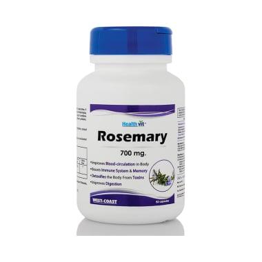 HealthVit Rosemary 700mg Capsule