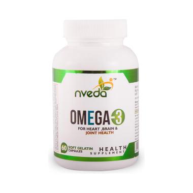 Nveda Omega 3 Soft Gelatin Capsule