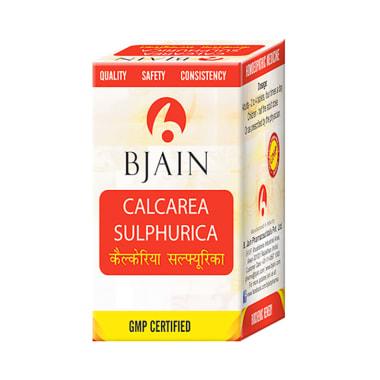 Bjain Calcarea Sulphurica Biochemic Tablet 12X