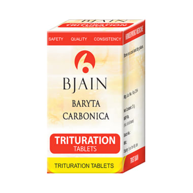Bjain Baryta Carbonica Trituration Tablet 3X