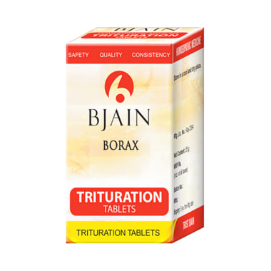 Bjain Borax Trituration Tablet 3X