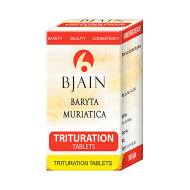 Bjain Baryta Muriatica Trituration Tablet 6X