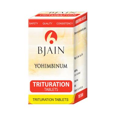 Bjain Yohimbinum Trituration Tablet 3X
