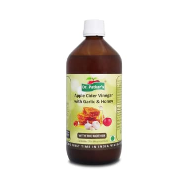 Dr. Patkar's Apple Cider Vinegar with Garlic and Honey