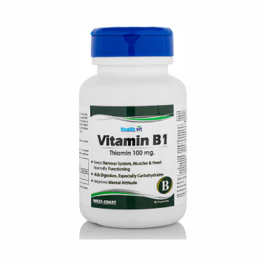 HealthVit Vitamin B1 100mg  Capsule