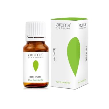 Aroma Treasures Basil (Sweet) Pure Essential Oil