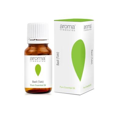 Aroma Treasures Basil (Tulsi) Essential Oil