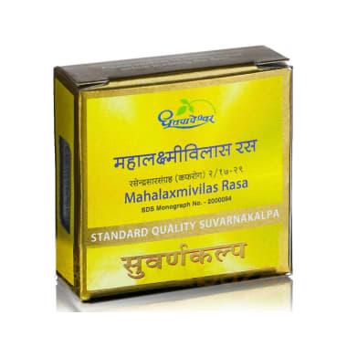 Dhootapapeshwar Mahalaxmivilas Rasa Standard Quality Suvarnakalpa Tablet