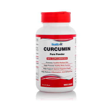 HealthVit Curcumin 500mg Powder