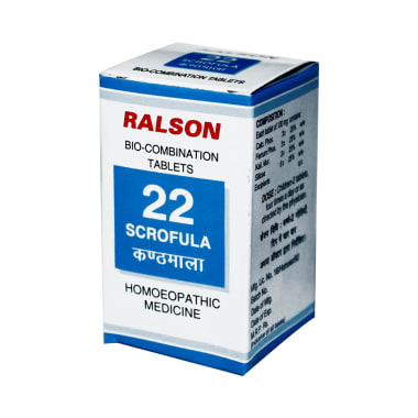 Ralson Remedies Bio-Combination 22 Tablet