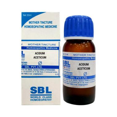 SBL Acidum Aceticum Mother Tincture Q