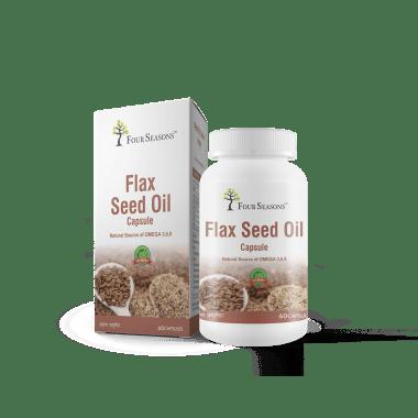 Four Seasons Flax Seed Oil Capsule