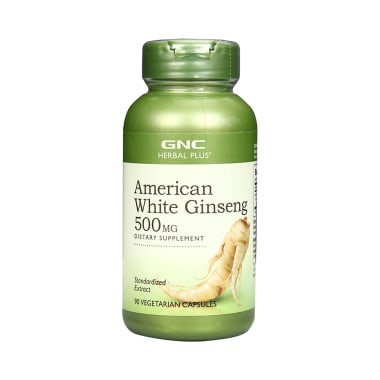 GNC Ginseng Gold Standardized American White Ginseng Capsule