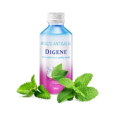 Digene Acidity & Gas Relief Gel Mint
