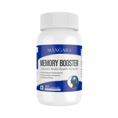 Maxgars Memory Booster Capsule