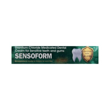 Sensoform Medicated Dental Cream