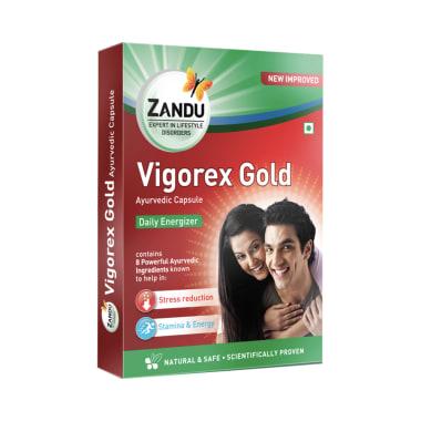 Zandu Vigorex Gold Capsule