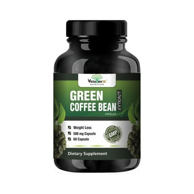 Veda Maxx Nutrition Green Coffee Bean Extract 500mg Capsule