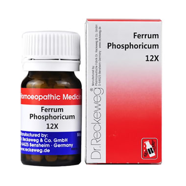 Dr. Reckeweg Ferrum Phosphoricum Biochemic Tablet 12X
