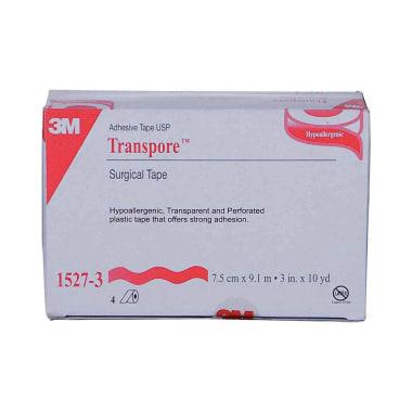 3M Transpore 1527-3, 3 inch x 10 yard