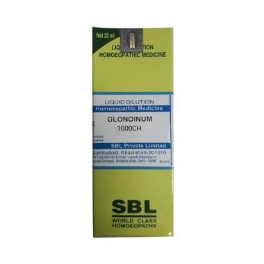 SBL Glonoinum Dilution 1000 CH