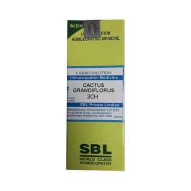 SBL Cactus Grandiflorus Dilution 3 CH