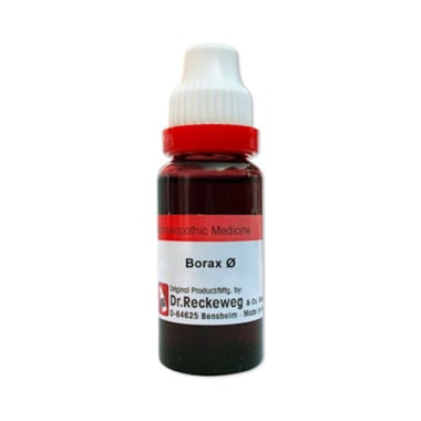 Dr. Reckeweg Borax Mother Tincture Q