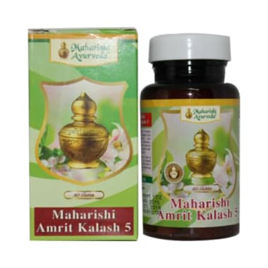 Maharishi Amrit Kalash - 5 Tablet