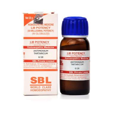 SBL Antimonium Tartaricum 0/28 LM