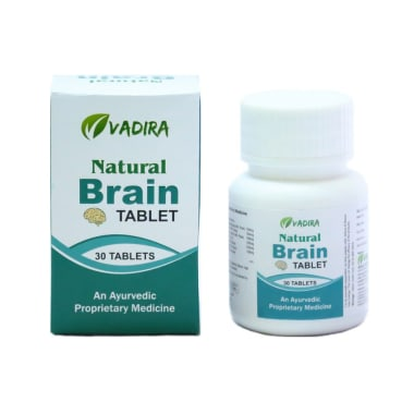 Vadira Natural Brain Tablet