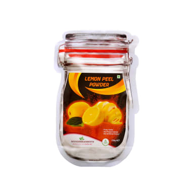 Wonderelements Lemon Peel Powder