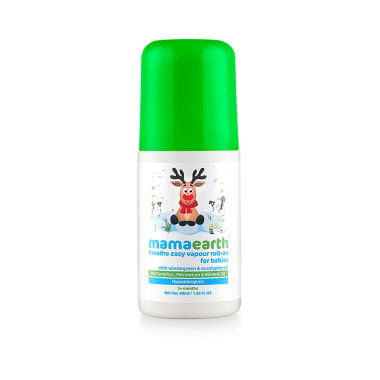 Mamaearth Natural Breathe Easy Vapour Roll-On for Babies