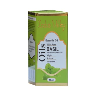 Indus Valley 100% Pure Essential Basil Oil