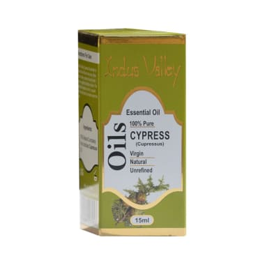 Indus Valley 100% Pure Essential Cypress Oil