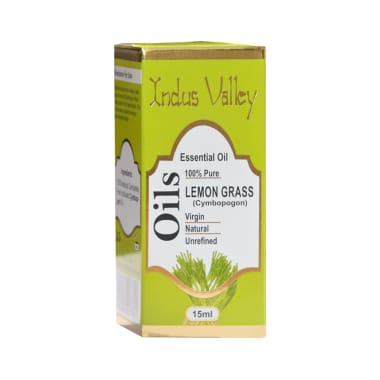 Indus Valley 100% Pure Essential Lemongrass Oil