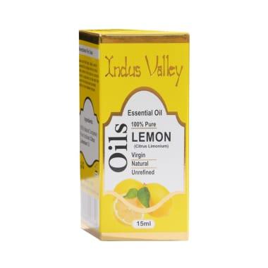 Indus Valley 100% Pure Essential Lemon Oil