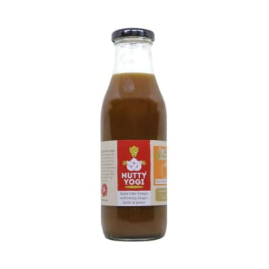 Nutty Yogi Apple Cider Vinegar Honey, Ginger, Garlic & Lemon