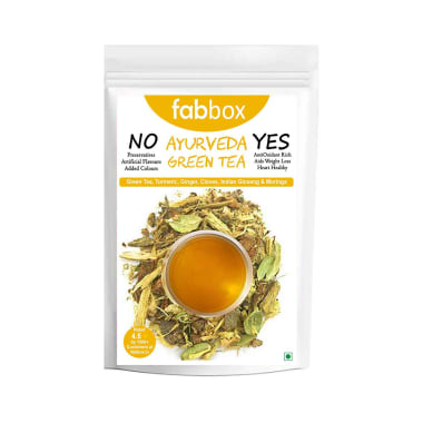 Fabbox Green Tea Ayurveda