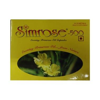 Simrose Soft Gelatin Capsule